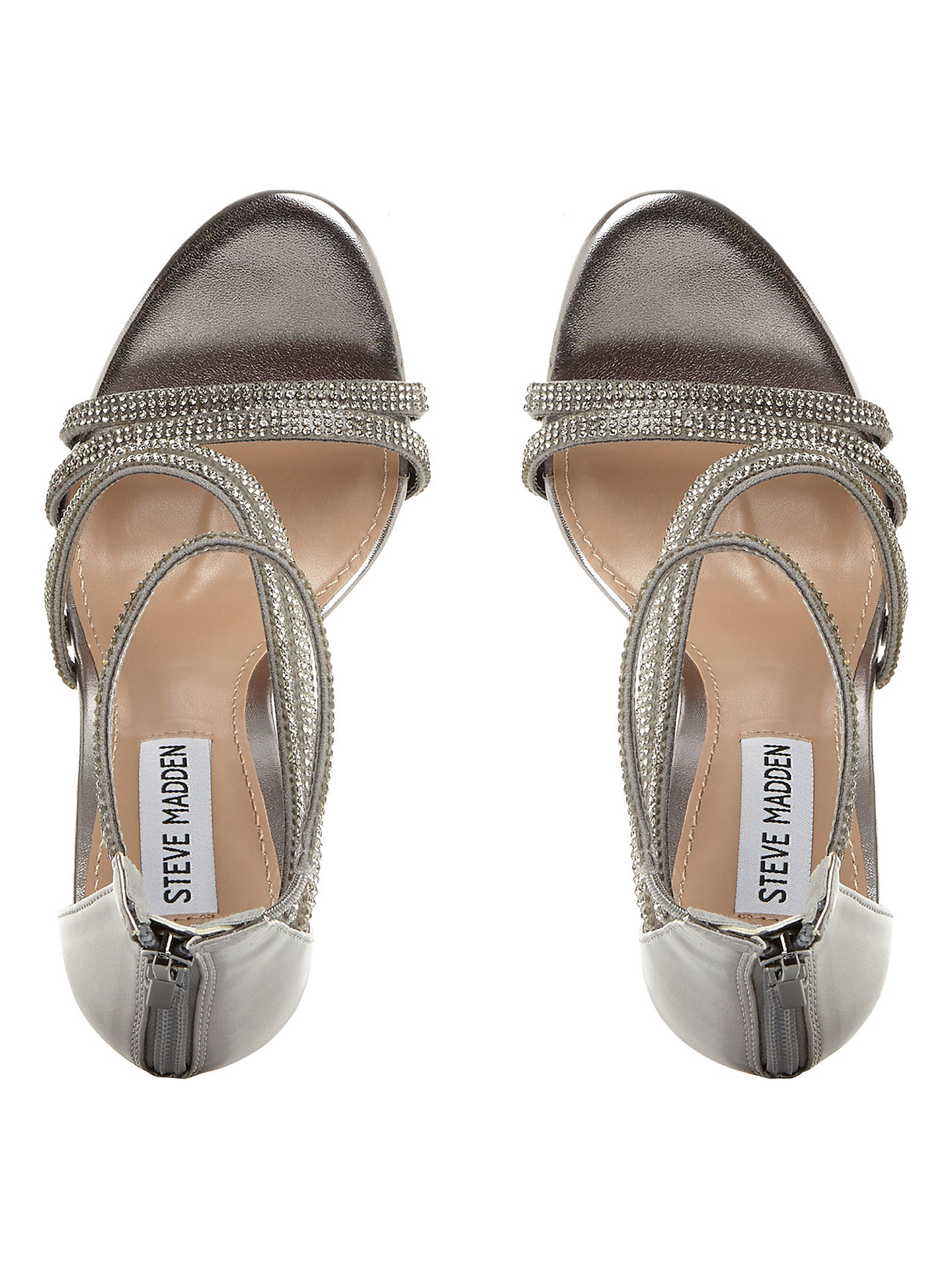 4a43ab0101ec Steve Madden Sweetest Multi Strap Sandals at John Lewis   Partners
