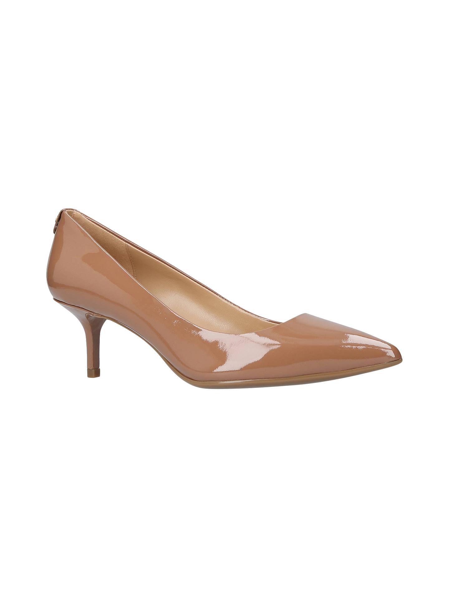 2343abc63b5 MICHAEL Michael Kors Flex Pump Kitten Heel Court Shoes at John Lewis ...