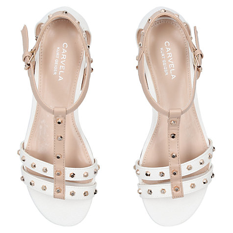 Buy Carvela Soula Stud Embellished Sandals Online at johnlewis.com