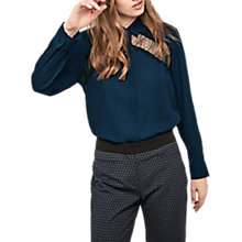 Buy Gerard Darel Baldellia Blouse, Blue Online at johnlewis.com