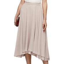 Buy Reiss Asymmetric Full Midi Skirt, Ash Online at johnlewis.com