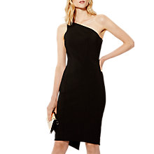 Buy Karen Millen One-Shoulder Pencil Dress, Black Online at johnlewis.com