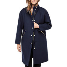 Buy Gerard Darel Germain Coat, Blue Online at johnlewis.com