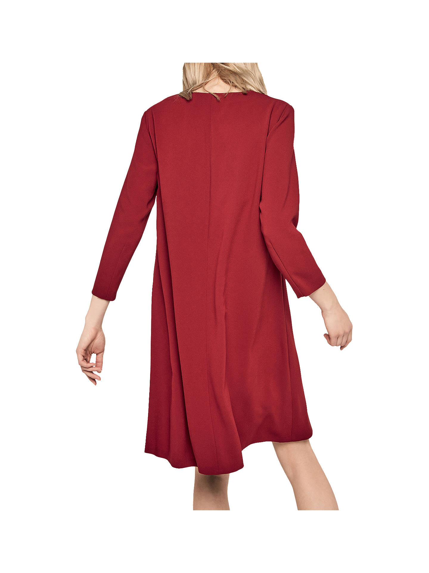 BuyGerard Darel Nadege Dress, Red, 10 Online at johnlewis.com