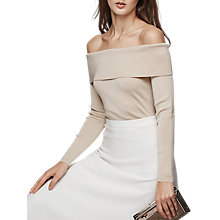 Buy Reiss Off The Shoulder Top Online at johnlewis.com