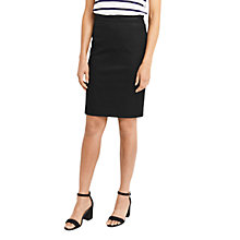 Buy Oasis Ines Pencil Skirt, Black Online at johnlewis.com