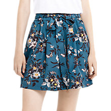 Buy Oasis Paperbag Shipwrecked Skirt, Multi/Green Online at johnlewis.com