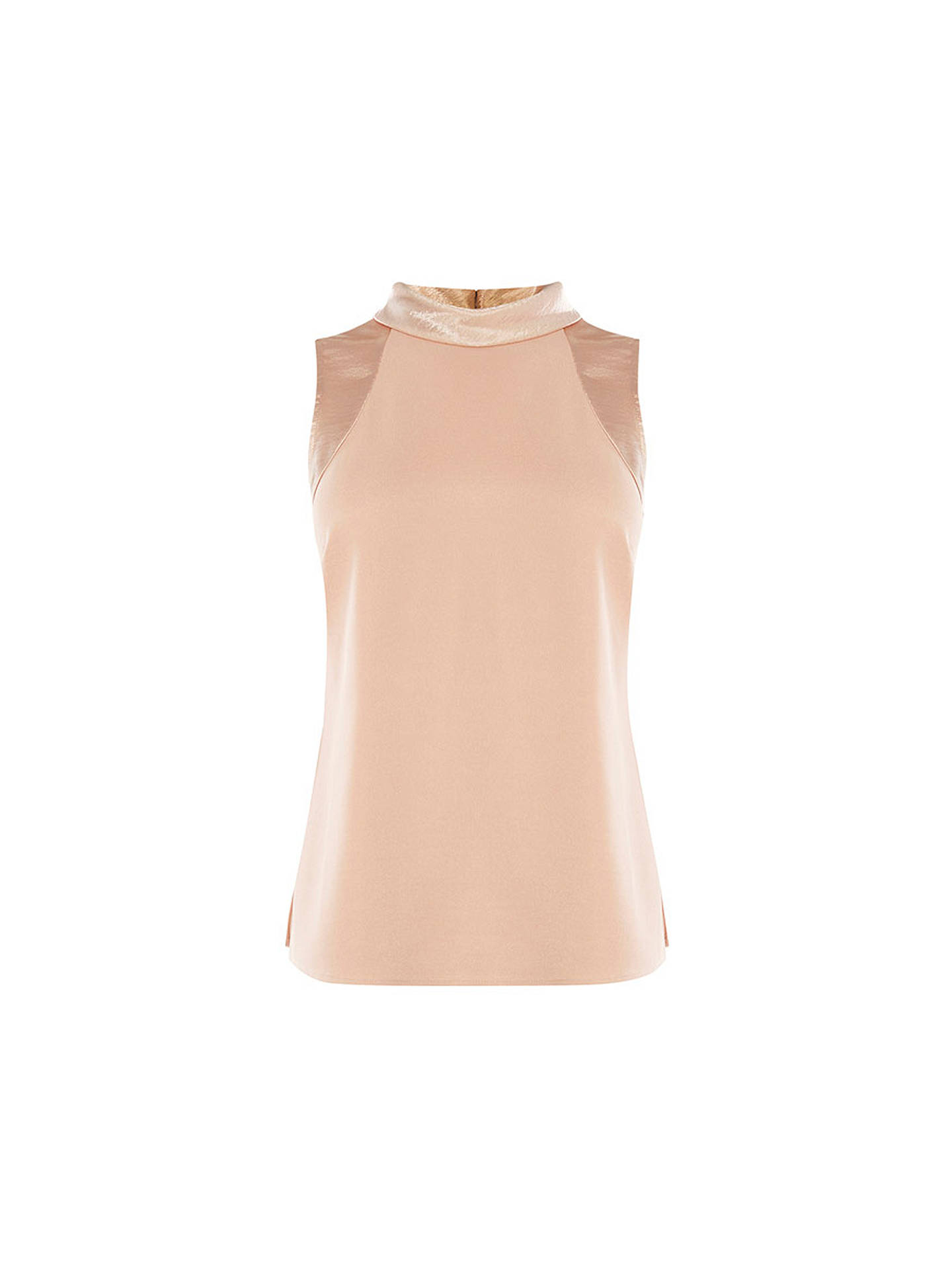 BuyCoast Fergie Roll Neck Top, Blush, 6 Online at johnlewis.com