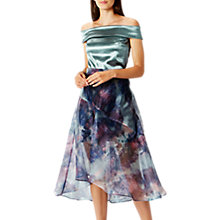 Buy Coast Taryn Organza Printed Skirt, Multi Online at johnlewis.com