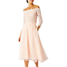 Buy Coast Marr Lace Bridesmaid Top, Blush Online at johnlewis.com
