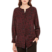 Buy Gerard Darel Buis Silk Blouse, Black Online at johnlewis.com