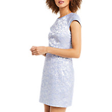 Buy Oasis Jacquard Shift Dress, Blue Online at johnlewis.com