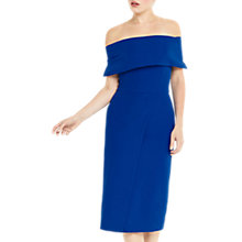 Buy Oasis Bardot Pencil Dress, Cobalt Blue Online at johnlewis.com