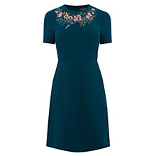 Buy Oasis Ava Embroidered Dress, Multi Online at johnlewis.com