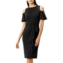 Buy Coast Lendra Crepe Dress, Black Online at johnlewis.com