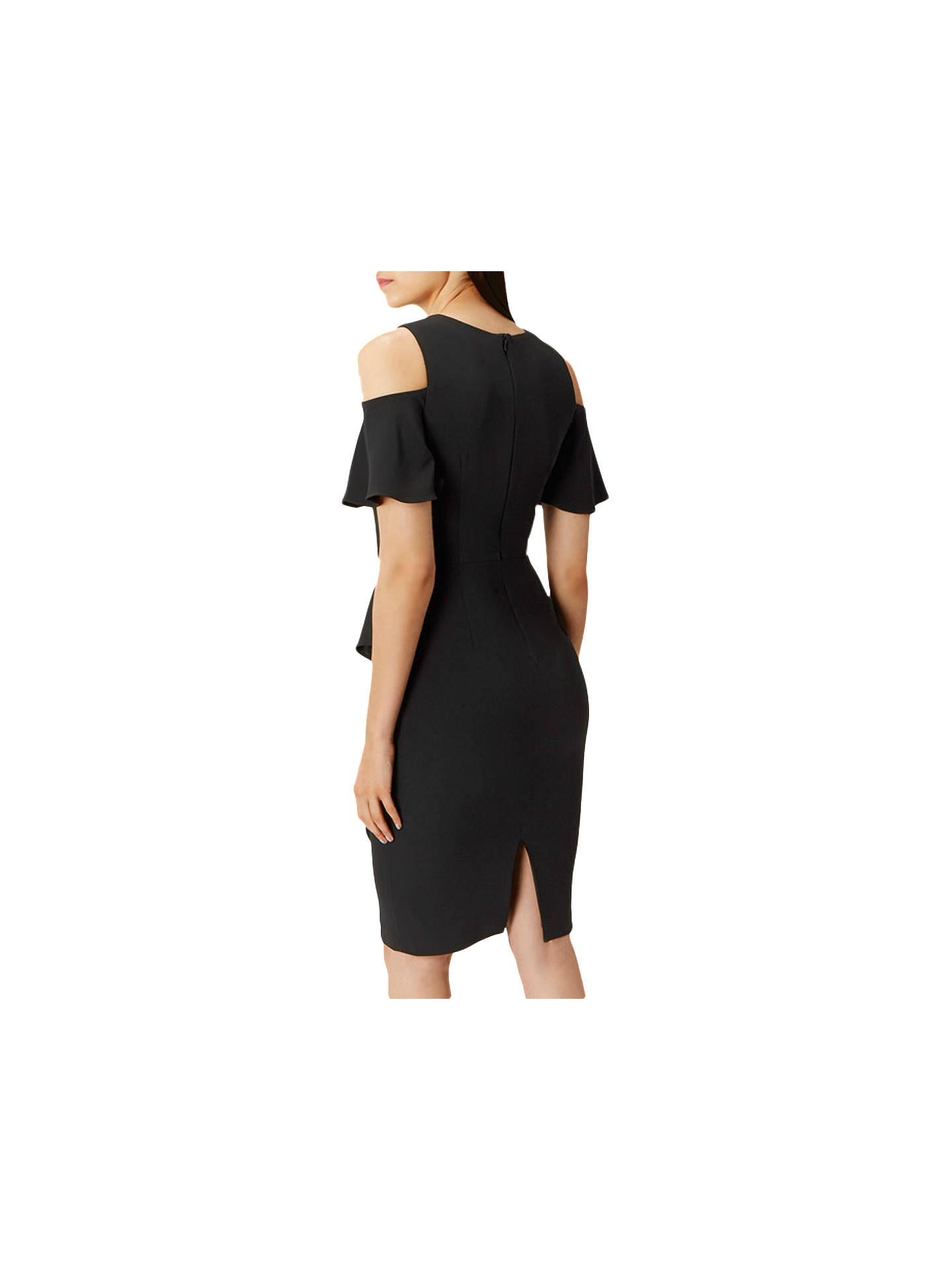 385f7472118c ... Buy Coast Lendra Crepe Dress, Black, 6 Online at johnlewis.com ...