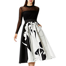 Buy Coast Iris Print Full Skirt, Multi Online at johnlewis.com