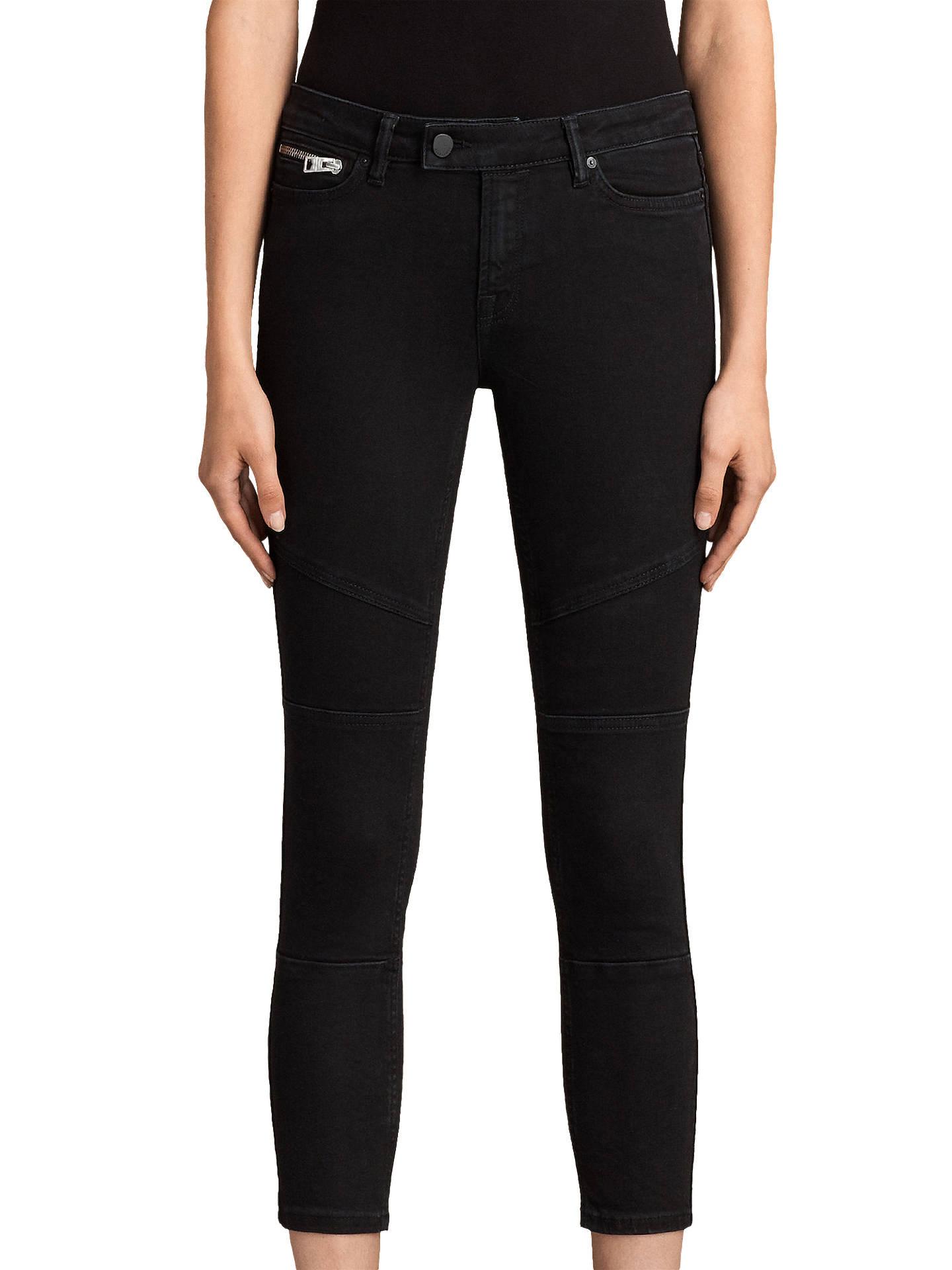 BuyAllSaints Biker Cropped Jeans 7196d3b49
