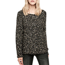 Buy Gerard Darel Wool Blend Jumper, Black/Multi Online at johnlewis.com