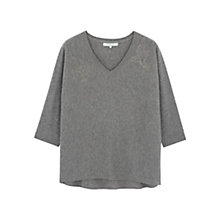 Buy Gerard Darel Lenda Jumper, Gris Chine Clair Online at johnlewis.com
