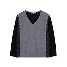 Buy Gerard Darel Lola Jumper, Gris Chine Moyen Online at johnlewis.com