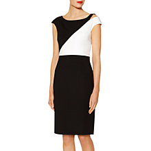 Buy Gina Bacconi Zoe Contrast Panel Dress Online at johnlewis.com