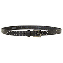 Buy Gerard Darel Jupiter Leather Belt, Black Online at johnlewis.com