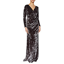 Buy Gina Bacconi Odette Crushed Velvet Maxi Dress Online at johnlewis.com