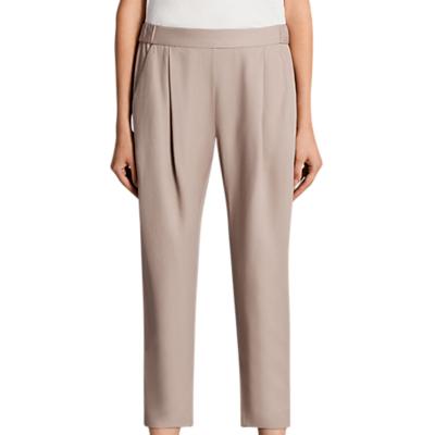 AllSaints Aleida Trousers, Dusty Pink