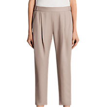 Buy AllSaints Aleida Trousers, Dusty Pink Online at johnlewis.com