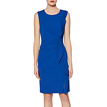 Buy Gina Bacconi Naomi Frill Dress, Lapis Blue Online at johnlewis.com