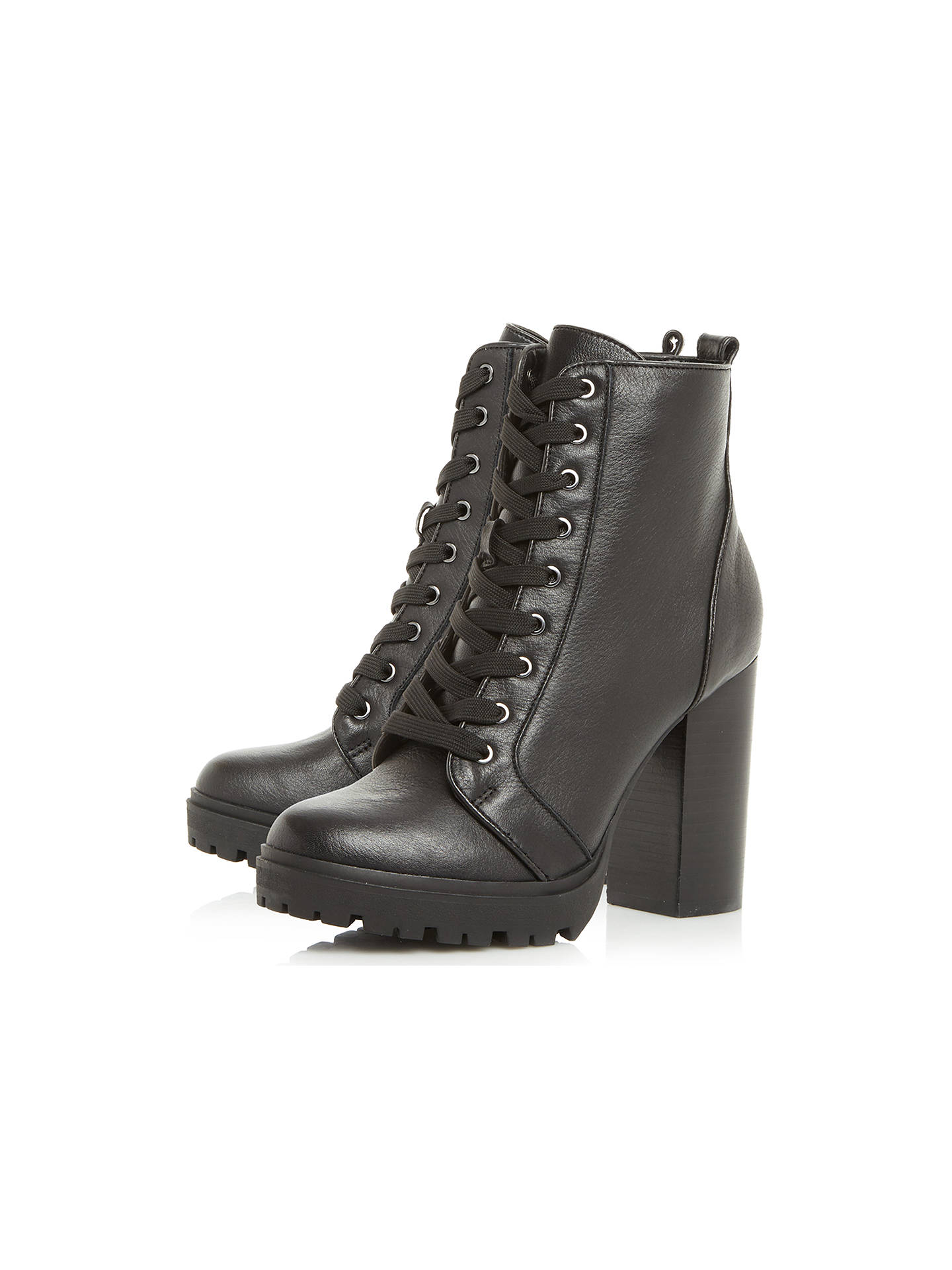 56539db9112 ... Buy Steve Madden Laurie Lace Up Block Heeled Ankle Boots