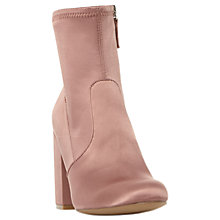 Buy Steve Madden Gaze Block Heeled Ankle Boots Online at johnlewis.com