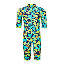 Buy John Lewis Boys' Dinosaur Print SunPro, Green Online at johnlewis.com