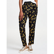 Buy Collection WEEKEND by John Lewis Artist Brush Stroke Floral Print Trousers Online at johnlewis.com