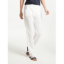 Buy John Lewis Straight Leg Linen Trousers Online at johnlewis.com