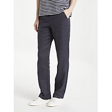 Buy John Lewis Straight Leg Linen Chinos Online at johnlewis.com