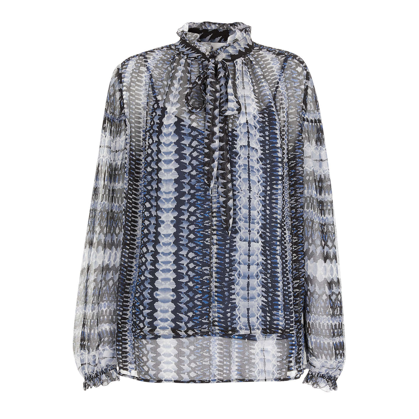 BuyAND/OR Francis Print Top, Blue/Multi, 8 Online at johnlewis.com