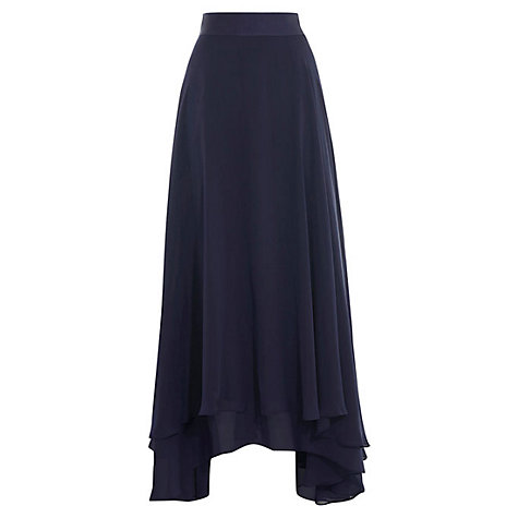 Buy Coast Harrie Soft Bridesmaid Skirt, Navy Online at johnlewis.com