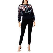 Buy Coast Minnelli Print Overlay Top, Multi Online at johnlewis.com