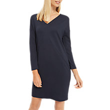 Buy Jaeger Dart Detail Jersey Dress, Midnight Online at johnlewis.com
