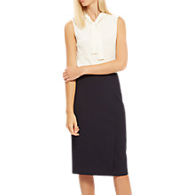 Buy Jaeger Exposed Dart Detail Skirt, Midnight Online at johnlewis.com