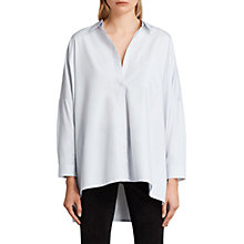 Buy AllSaints Valdes Shirt, Seafoam Blue Online at johnlewis.com