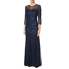 Buy Gina Bacconi Eugenie Graduated Sequin Maxi Dress Online at johnlewis.com