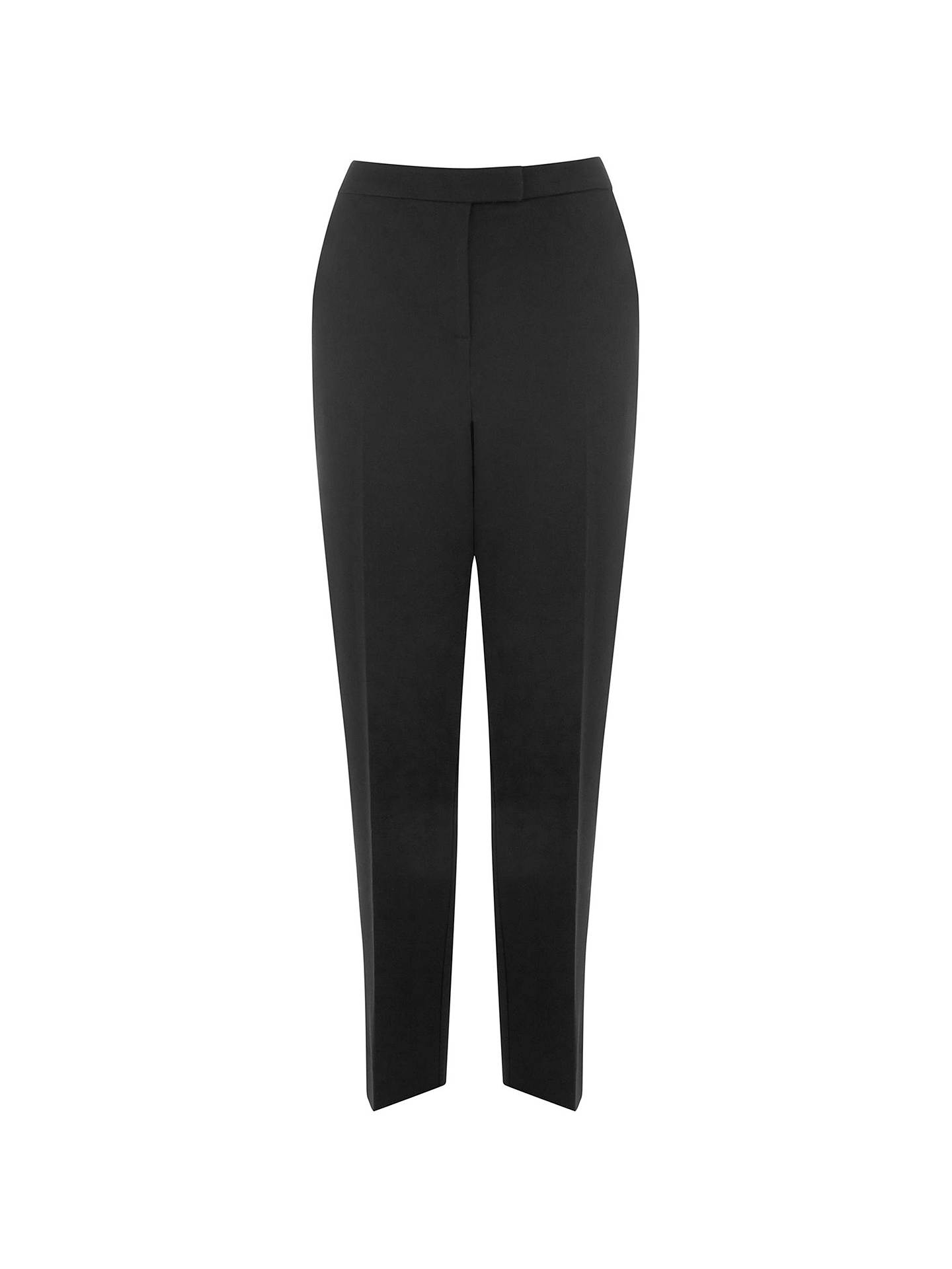 BuyWarehouse Slim Leg Trousers, Black, 6 Online at johnlewis.com