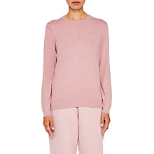 Buy Ted Baker Ted Says Relax Cozlie Beauty Sleep Jumper, Dusky Pink Online at johnlewis.com