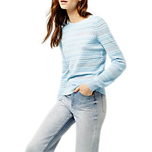 Buy Warehouse Pretty Stitch Jumper Online at johnlewis.com