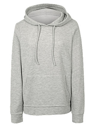 Buy Fat Face Clovelly Hoodie, Light Grey, 6 Online at johnlewis.com