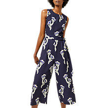 Buy Warehouse Iris Print Jumpsuit, Multi Online at johnlewis.com