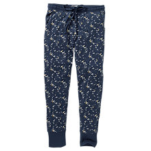 Buy Fat Face Luna Sky Jersey Legging Pyjama Bottoms, Navy Online at johnlewis.com